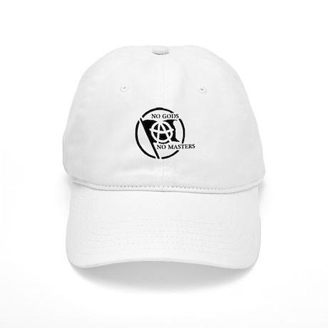 NO GODS NO MASTERS Baseball Cap by nogodsmasters da22ed524bb