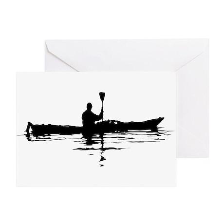 Kayaking Greeting Card
