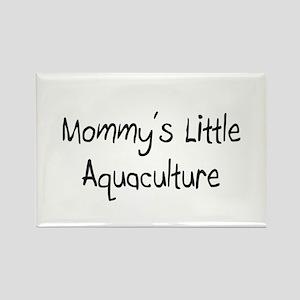 Mommy's Little Aquaculture Rectangle Magnet