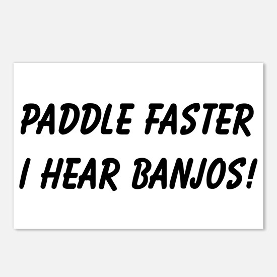Banjos! Postcards (Package of 8)