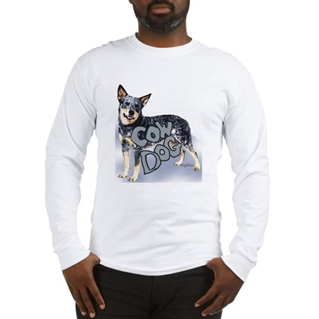 cow dog Long Sleeve T-Shirt