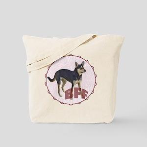 bff kelpie Tote Bag