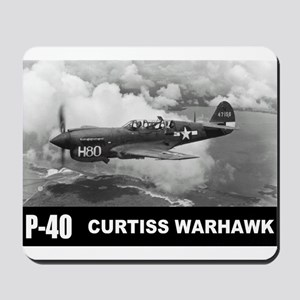 P-40 Curtiss Warhawk Mousepad
