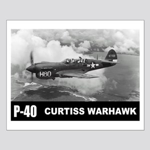 P-40 Curtiss Warhawk Small Poster