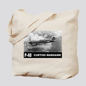 P-40 Curtiss Warhawk Tote Bag
