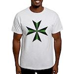 Green Maltese Cross Light T-Shirt