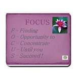 Finding My Focus Mousepad