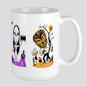 Monster Trio Large Mug