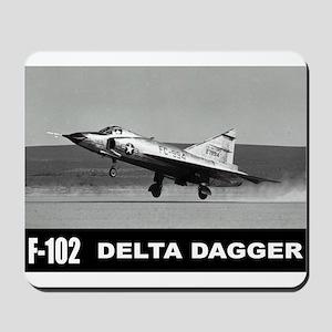 F-102 Delta Dagger Mousepad