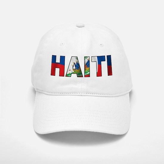 Haiti Baseball Baseball Cap