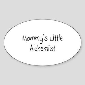 Mommy's Little Alchemist Oval Sticker