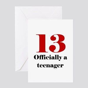 13 Teenager Greeting Cards