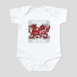 Welsh Dragon Infant Bodysuit