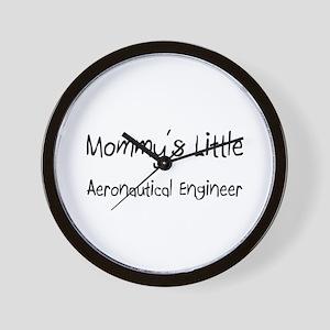 Mommy's Little Aeronautical Engineer Wall Clock