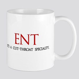 ENT is a cut-throat specialty Mug