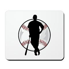 Baseball Player Mousepad