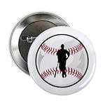 "Baseball Player 2.25"" Button (100 pack)"