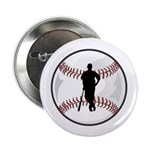 "Baseball Player 2.25"" Button (10 pack)"