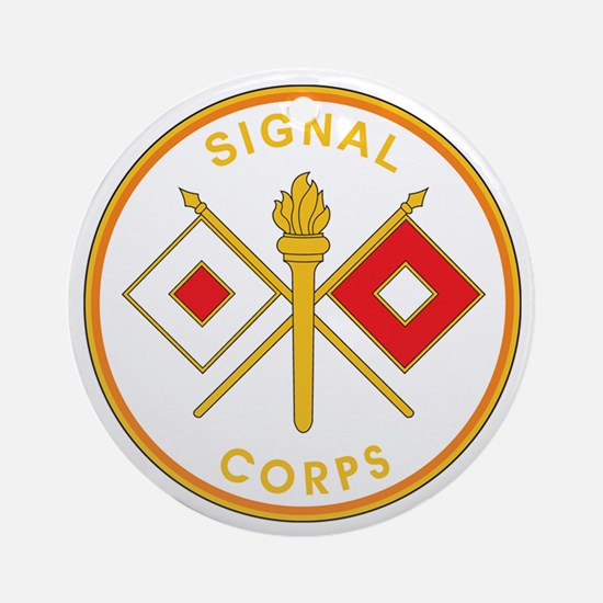 SIGNAL-CORPS Ornament (Round)