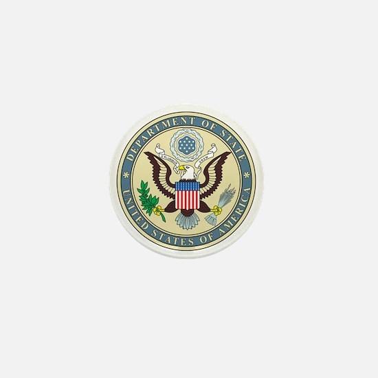 STATE-DEPARTMENT-SEAL Mini Button