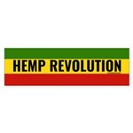 Hemp Revolution Rasta (bumper 50 Bumper Sticker