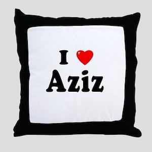 AZIZ Throw Pillow