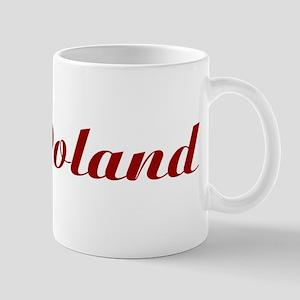 Classic Poland (Red) Mug