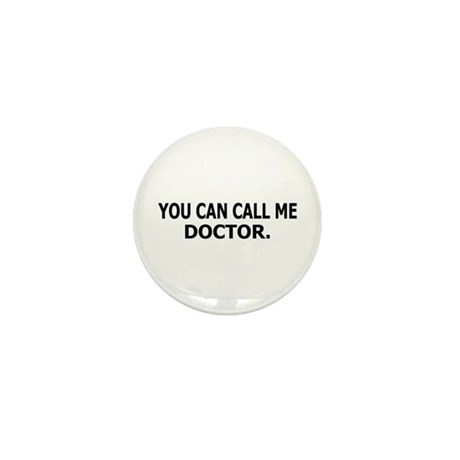 Call Me Doctor Mini Button (10 pack)