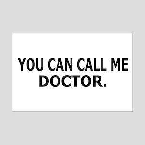 Call Me Doctor Mini Poster Print