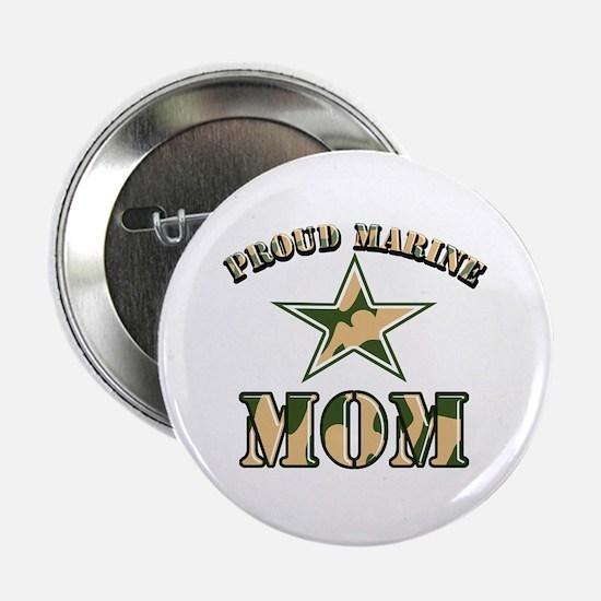 "Proud Marine Mom 2.25"" Button"