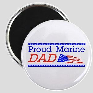 Proud Marine Dad Magnet