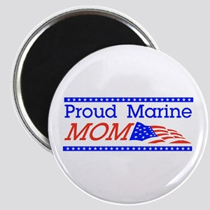 Proud Marine Mom! Magnet