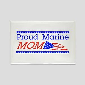 Proud Marine Mom! Rectangle Magnet