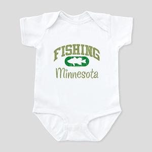 FISHING MINNESOTA Infant Bodysuit