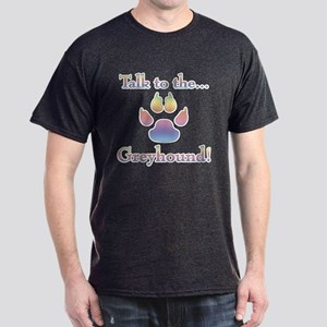 Grey Talk Rainbow Dark T-Shirt