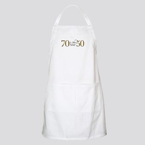 70 is the new 50 BBQ Apron