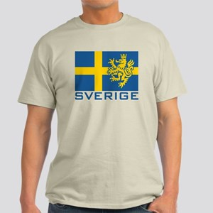 Sverige Flag Light T-Shirt