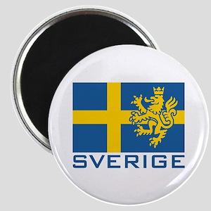 Sverige Flag Magnet