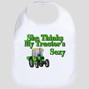 She Thinks My Tractors Sexy Bib
