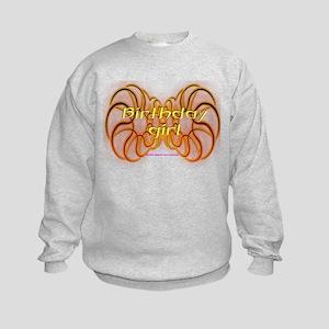 Verjaardag - Birthday Girl - Kids Sweatshirt