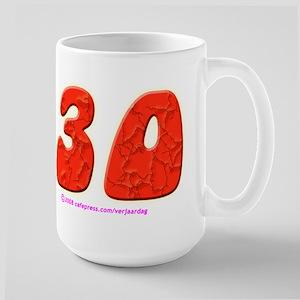 Verjaardag - 30 - Large Mug