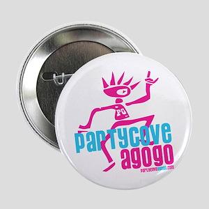 """Party Cove A GoGo 2.25"""" Button"""