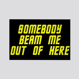 Beam Me Out MAGNET Magnets