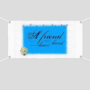 a friend boque Banner