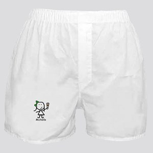 Coffee - Michelle Boxer Shorts