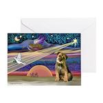 XStar-Border Terrier Greeting Card