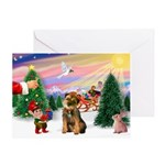 Treat for a Border Terrier Greeting Card