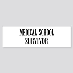 Survived Med School Bumper Sticker
