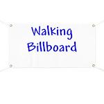 Walking Billboard Banner