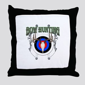 Bow Hunting Throw Pillow